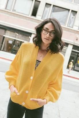 Ragdoll LA SHORT CARDIGAN Yellow