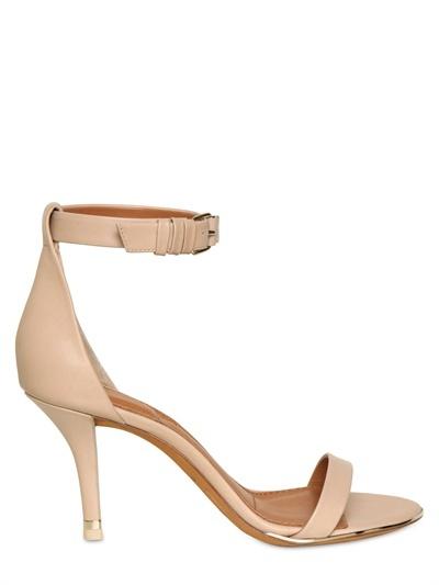 Givenchy - 80mm Soft Calfskin Sandals