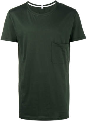 Lot 78 Lot78 Green Pocket Crew Tee