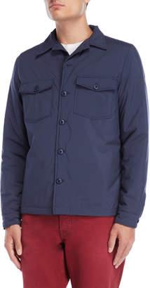 Serge Blanco Marine Padded Shirt Jacket