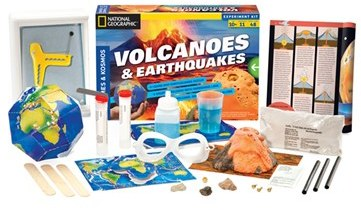 Kid's Thames & Kosmos 'Volcanoes & Earthquakes' Experiment Kit
