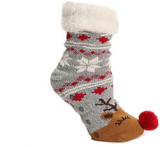 Mix No. 6 Cozy Reindeer Slipper Socks - Women's