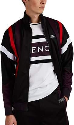 """Givenchy Men's """"3Givenchy"""" Logo Fleece Track Jacket"""