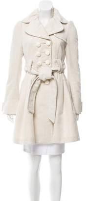 Hanii Y Belted Knee-Length Jacket