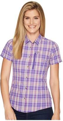 Fjallraven Abisko Hike Shirt Short Sleeve Women's Short Sleeve Button Up