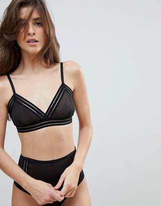 Weekday Mesh Soft Bra
