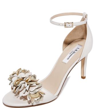 L.K. Bennett Claudie Sandals $395 thestylecure.com