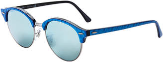 Ray-Ban RB4246 Blue Clubround Round Sunglasses