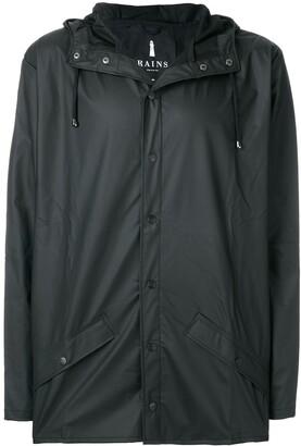 Rains snap fastening raincoat