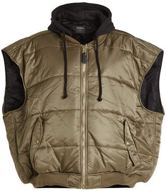 Vetements Quilted Bomber Vest