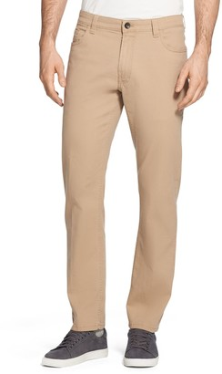 Izod Men's Saltwater Straight-Fit 5-Pocket Stretch Chino Pants