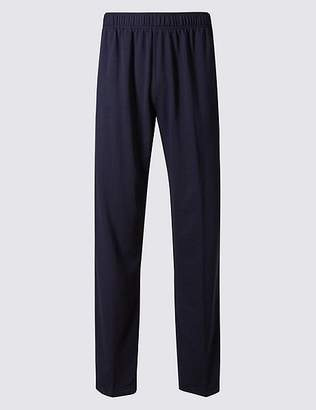 Marks and Spencer Cotton Rich Lightweight Joggers with StayNEWTM