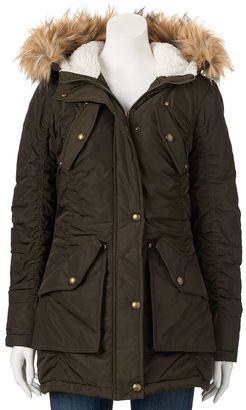 Juniors' Madden Girl Ruched Cargo Jacket $100 thestylecure.com