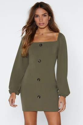 Nasty Gal Love Will Square Us Apart Mini Dress