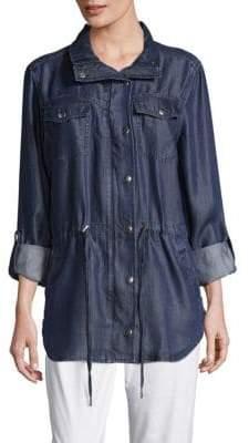 NYDJ Long Sleeve Snap Jacket
