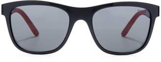 Ralph Lauren Rubberized Square Sunglasses