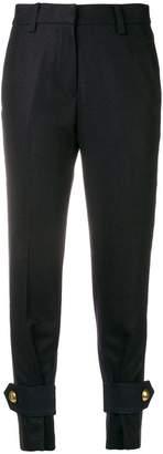 Sacai button cuff trousers