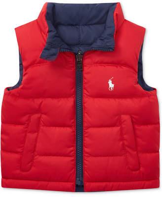 Polo Ralph Lauren (ポロ ラルフ ローレン) - Ralph Lauren Baby Boys Reversible Ripstop Vest