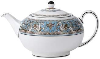 Wedgwood Florentine Turquoise Teapot (15 x 13cm)