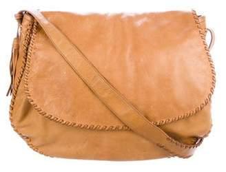 Ralph Lauren Purple Label Leather Messenger Bag