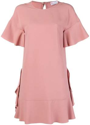 RED Valentino ruffled flared dress