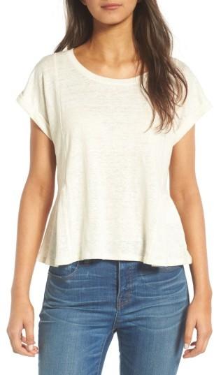 Women's Madewell Modern Linen Gather Top