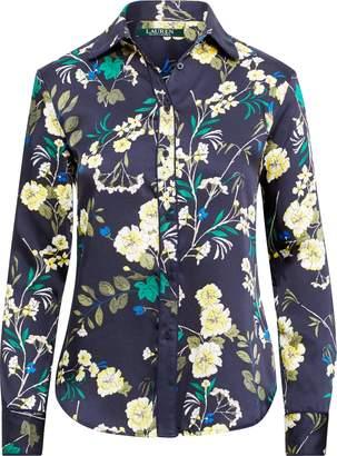 Ralph Lauren Floral-Print Twill Shirt