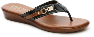 Italian Shoemakers Lock Wedge Sandal - Women's