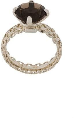 Wouters & Hendrix A Wild Original! smokey quartz chain ring