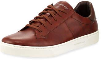 Ermenegildo Zegna Vulcanized Flex Vittorio Leather Sneaker