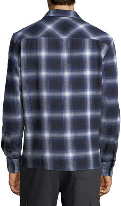 Slate & Stone Men's Heavy Flannel 2-Pocket Shirt
