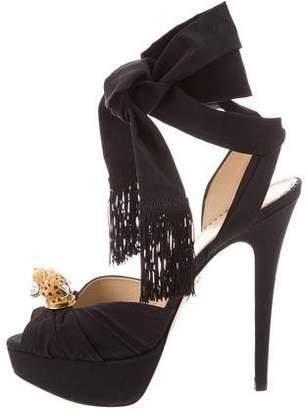 Charlotte Olympia Bruce Wrap-Around Sandals