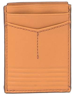 Fossil Ford Leather Card Case & Magnetic Money Clip