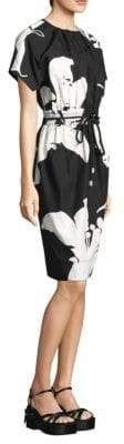 Marc Jacobs Printed Elastic-Waist Dress