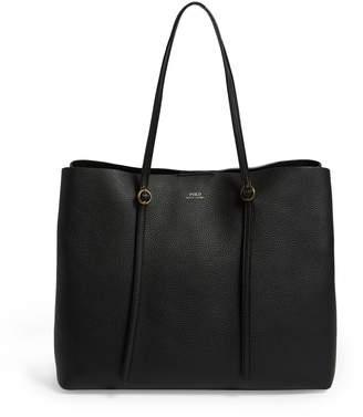Polo Ralph Lauren Leather Lennox Tote Bag