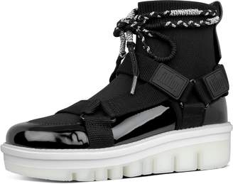 FitFlop Spacer High-Top Sock Sneakers