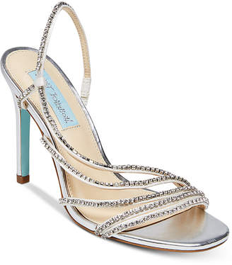Betsey Johnson Blue by Aces Evening Sandals Women's Shoes
