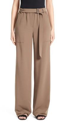 Women's St. John Collection Drape Suiting Pants $495 thestylecure.com