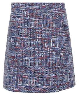 Etro Cotton-blend tweed miniskirt