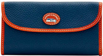 Dooney & Bourke Seattle Seahawks Pebble Continental Clutch