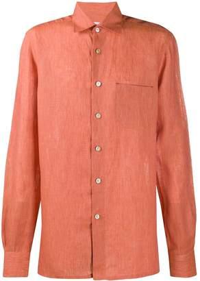 Kiton plain loose-fit shirt