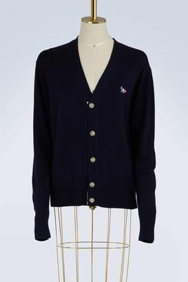 MAISON KITSUNÉ Virgin wool cardigan