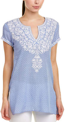 Sulu Collection Silk-Blend Tunic