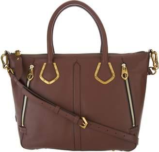 Oryany Pebble Leather Satchel Handbag -Nicole