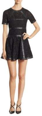 The Kooples Fit-&-Flare Lace Dress