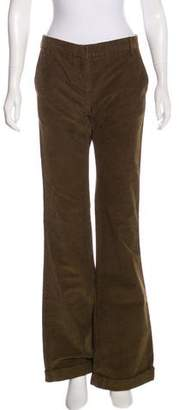 Balmain Mid-Rise Flared Pants