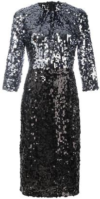 Dolce & Gabbana sequinned dress $3,695 thestylecure.com