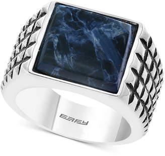 Effy Men's Pietersite Textured Ring in Sterling Silver