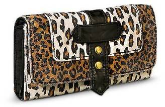 Women's Leopard Print Trifold Wallet - Brown - Mossimo Supply Co.; $12.99 thestylecure.com