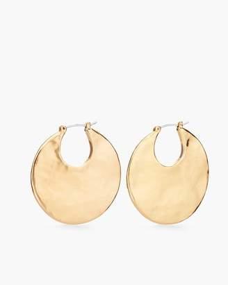 Gold-Tone Statement Hoop Earrings